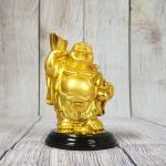 ln193 phat di lac vang 2 150x150 Phật di lạc tay cầm hồ lô nén vàng LN193