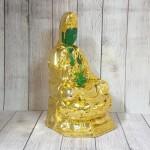 ln194 quan am xanh ngoc 150x150 Phật quan âm xanh ngọc trên đài sen LN194