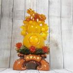 ln198 ho lo cam luu ly 2 150x150 Hồ lô cam vàng ngọc lưu ly có chùm vải LN198