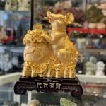 TM005 chuot vang 150x150 Chuột vàng ôm ba đỉnh vàng TM005
