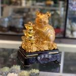 Chuột vàng ôm 3 núi vàng TM013